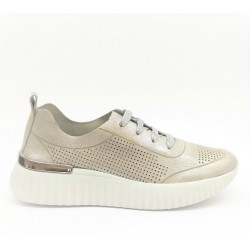 Leather sneaker IV14625S